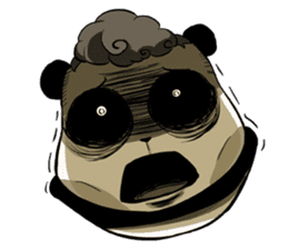 Scary Panda Kibo sticker #15627003