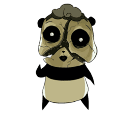 Scary Panda Kibo sticker #15627005