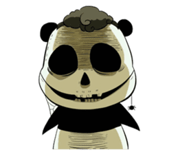 Scary Panda Kibo sticker #15627008