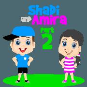 สติ๊กเกอร์ไลน์ Shadi and Amira Part 2