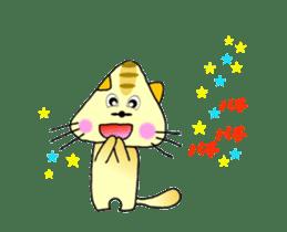 Anime SankakuNyan sticker #15643002