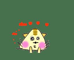 Anime SankakuNyan sticker #15643005
