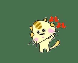 Anime SankakuNyan sticker #15643014
