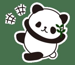 Sticker of the cute panda sticker #15652755
