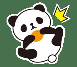 Sticker of the cute panda sticker #15652757