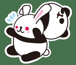 Sticker of the cute panda sticker #15652759