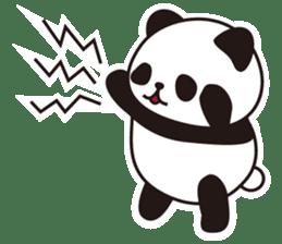 Sticker of the cute panda sticker #15652760