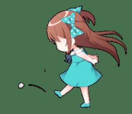 Cheerful moe girl, Meitan! Vol.7 [ENG] sticker #15654252