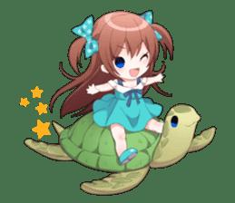 Cheerful moe girl, Meitan! Vol.7 [ENG] sticker #15654257
