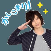 สติ๊กเกอร์ไลน์ TOSHIYUKI SOMEYA Animation Sticker