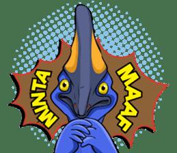 The Kaslopa - Papuan Slang Cassowary sticker #15663639