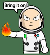 Ash The Astronaut sticker #15668171