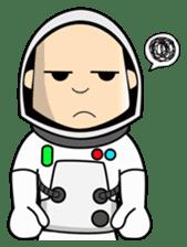 Ash The Astronaut sticker #15668182