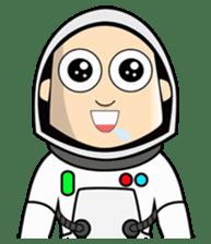 Ash The Astronaut sticker #15668190