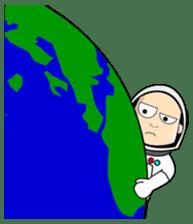 Ash The Astronaut sticker #15668192