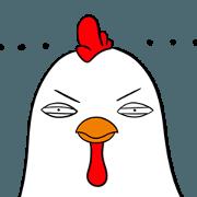 สติ๊กเกอร์ไลน์ Funny Rooster Sachet 3