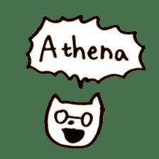 Greek Cats sticker #15673077
