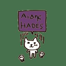Greek Cats sticker #15673080