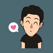 สติ๊กเกอร์ไลน์ You know I Love You: Animated 1
