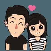 สติ๊กเกอร์ไลน์ You know I Love You: Animated 3