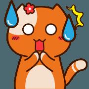 สติ๊กเกอร์ไลน์ Pau Pau The Cat Promo Sachet Vol-4