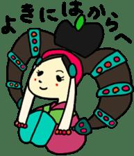 Mongolian sticker(in Japanese) sticker #15678557