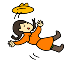 Mongolian sticker(in Japanese) sticker #15678592