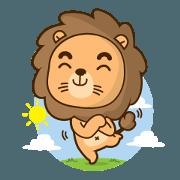 สติ๊กเกอร์ไลน์ Shiba the Little Lion
