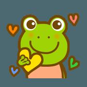 สติ๊กเกอร์ไลน์ Daily frog sticker