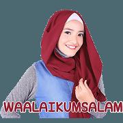 สติ๊กเกอร์ไลน์ Hijab Style: Zyana Regyna Vol.2 (Sachet)