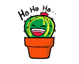 Little Cactus sticker #15692171