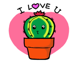 Little Cactus sticker #15692172
