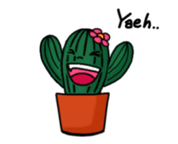 Little Cactus sticker #15692176