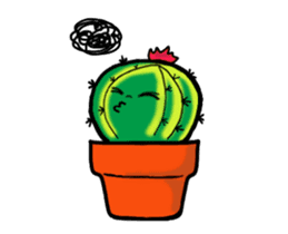 Little Cactus sticker #15692180