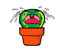 Little Cactus sticker #15692181
