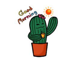 Little Cactus sticker #15692182