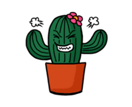 Little Cactus sticker #15692188