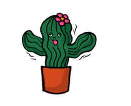 Little Cactus sticker #15692189