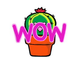 Little Cactus sticker #15692191