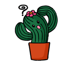 Little Cactus sticker #15692193