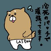สติ๊กเกอร์ไลน์ shochan's poppo sticker part2