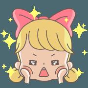 สติ๊กเกอร์ไลน์ Riboni's Life (Animated Stickers)