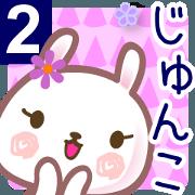สติ๊กเกอร์ไลน์ A set of sticker for Junko 2