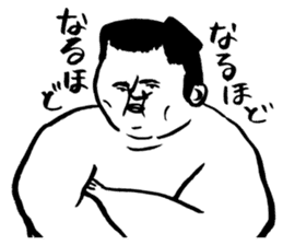 a wrestler sticker #15701268