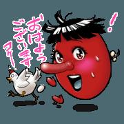 สติ๊กเกอร์ไลน์ Akemi-chan of the Tengu