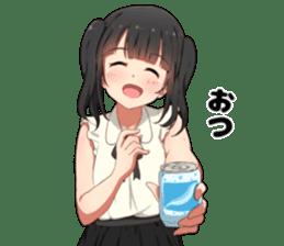 Otaku Twin Tail sticker #15708801
