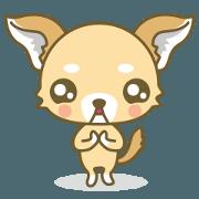 สติ๊กเกอร์ไลน์ Azatoi Dog
