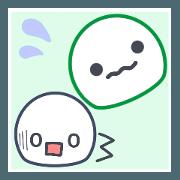 สติ๊กเกอร์ไลน์ Send your feelings now 2 (Troubled face)