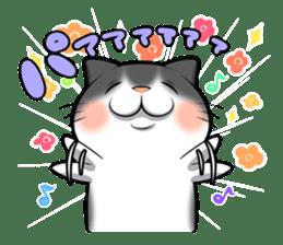 catple2(black cat) sticker #15712226