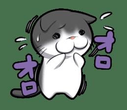 catple2(black cat) sticker #15712228